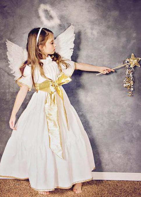 Платье ангела для девочки из фатина