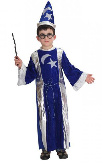 костюм волшебника для мальчика своими руками