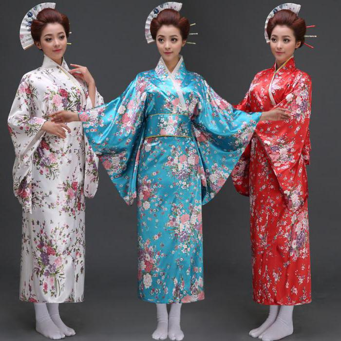 кимоно японское