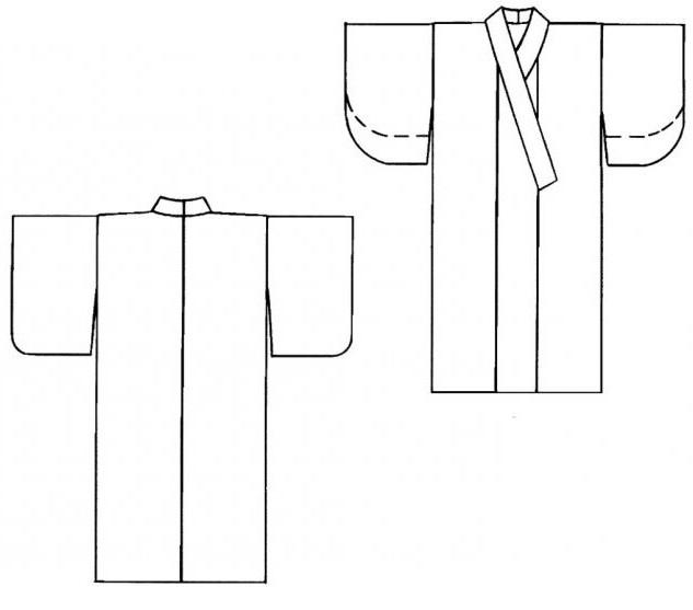 японское кимоно выкройка