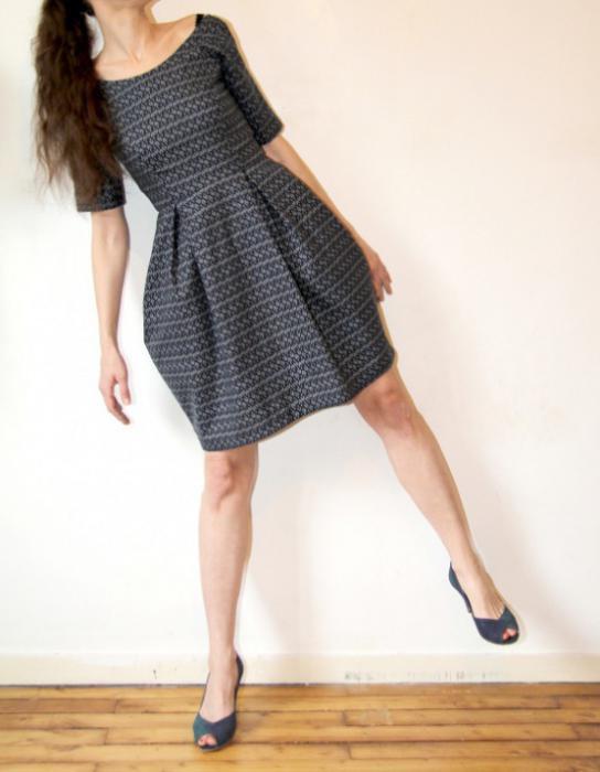 И выкройки платья юбки