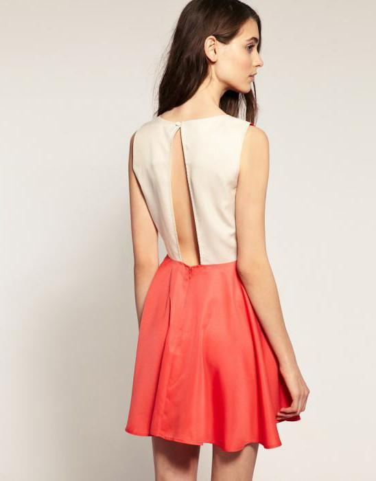 Платье с юбкой солнце и с открытой спиной выкройка