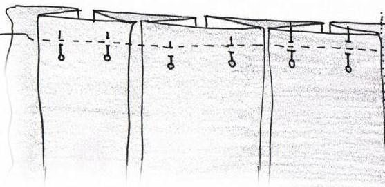 юбка со складками выкройка