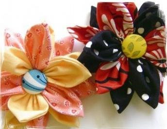 Сделать своими руками цветочек из ткани своими руками фото 381