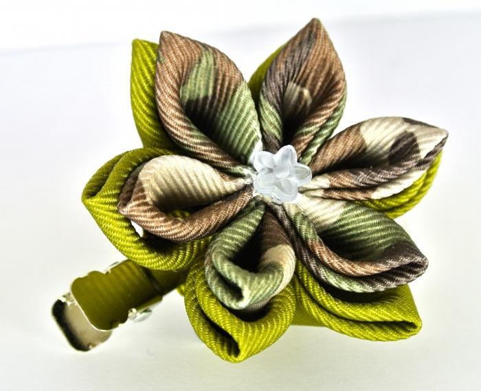 Как делать цветы ниткой