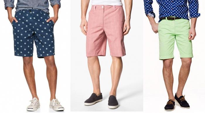 мужские шорты выкройка