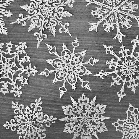 как сделать снежинки из бумаги своими руками