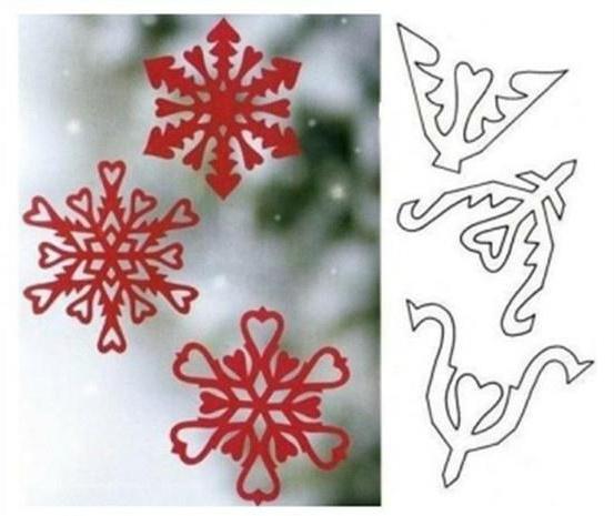 Снежинки и звезды из бумаги своими руками