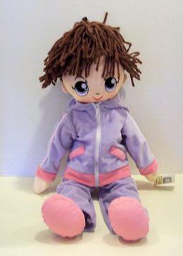 волосы для куклы своими руками
