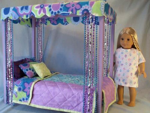 кроватки для кукол своими руками