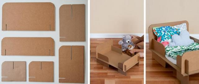 Сделать кроватка для куклы своими руками