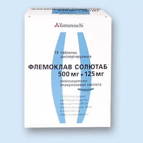 Антибиотик Таблетки Инструкция