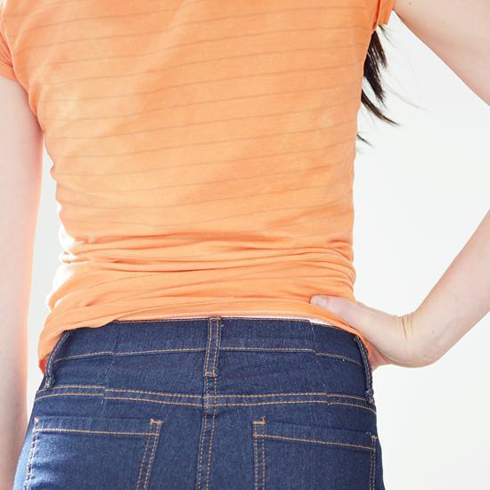 как ушить брюки в поясе
