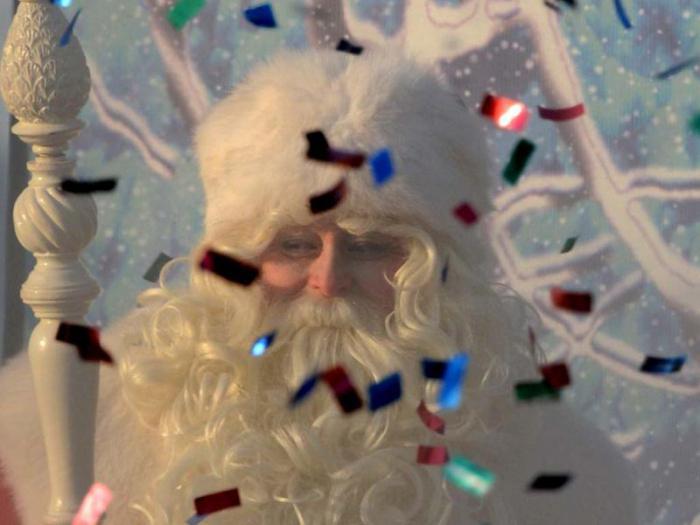 Посох деда мороза с подсветкой своими руками фото 562
