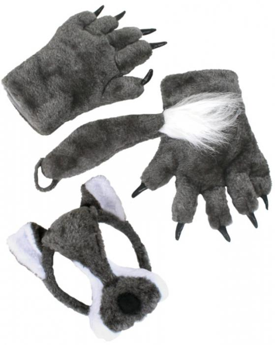 Как своими руками сшить костюм волка
