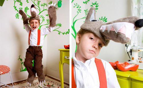 костюм волка детский
