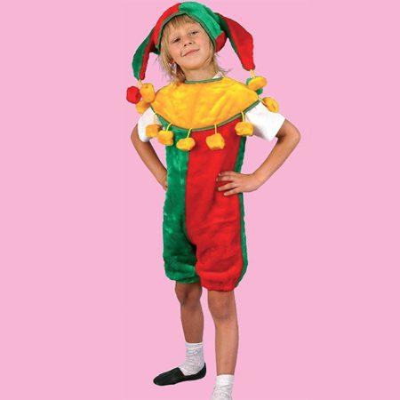 костюм скомороха для девочки
