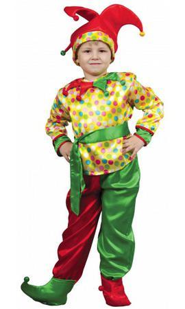 костюм скомороха детский