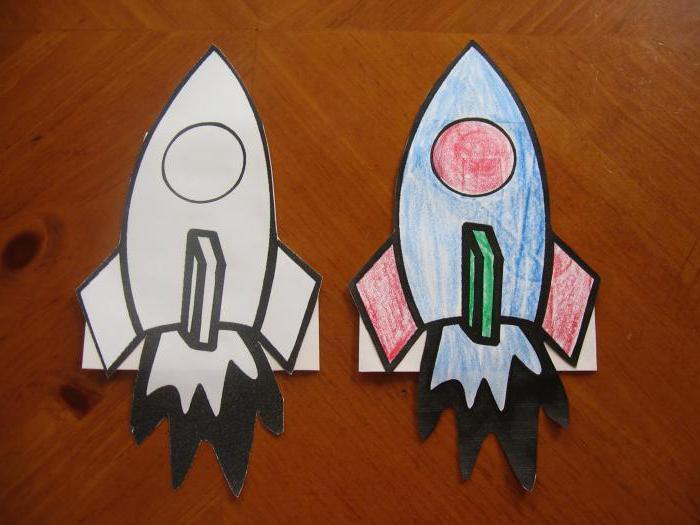 детские поделки ко дню космонавтики своими руками