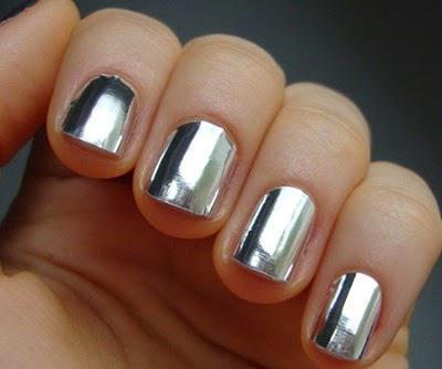 зеркальный блеск для ногтей