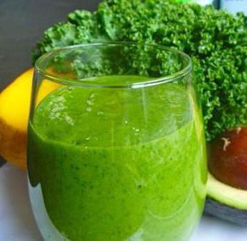 рецепты зеленых коктейлей для похудения