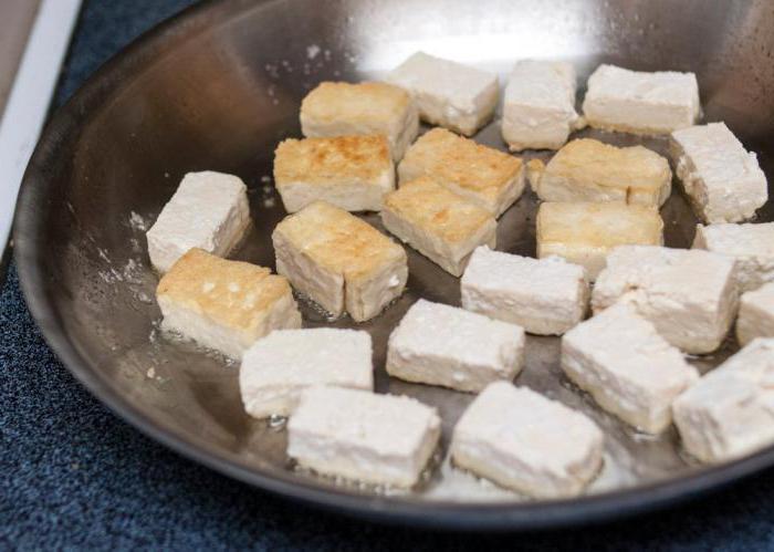 как пожарить тофу рецепты
