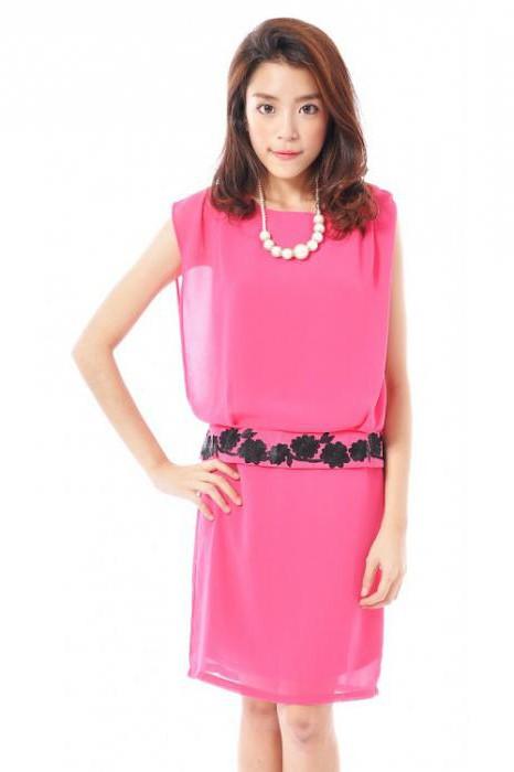 платье с заниженной талией фото