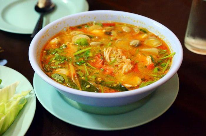 как приготовить тайский суп