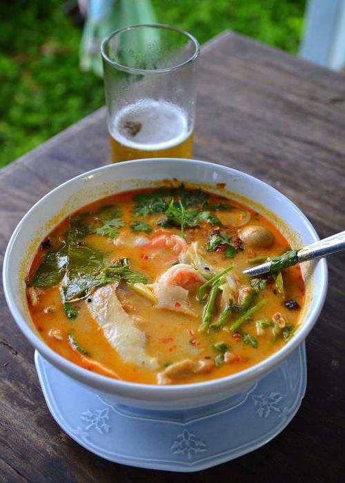 основа для супа том ям рецепт