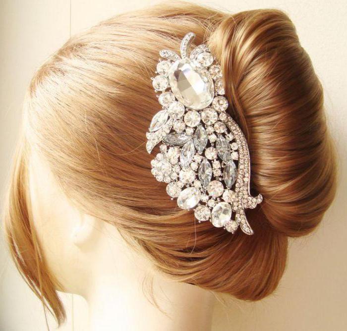 свадебные гребни для волос спб