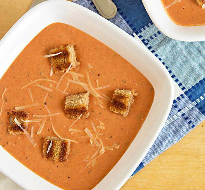 Как приготовить томатный суп с