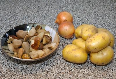 Простой рецепт картошка и свинина в духовке с фото