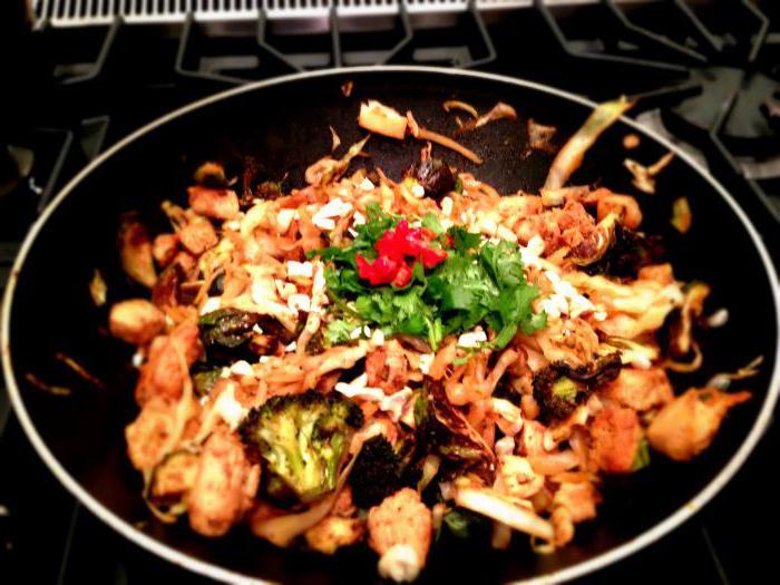 начинка в лапшу wok