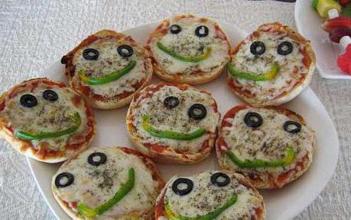 пицца для детей на день рождения