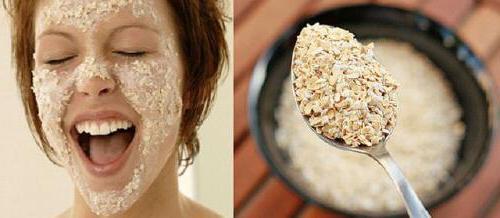 маска для лица из геркулеса очищающая поры