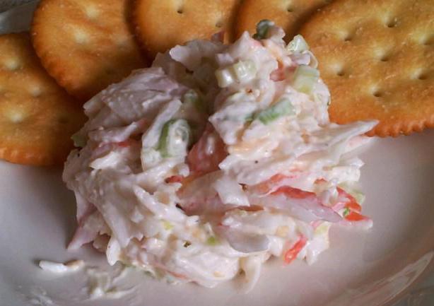 салат из краба натурального рецепт