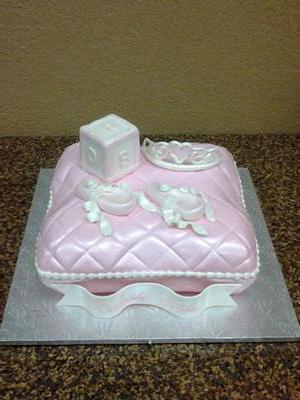 торт подушка из мастики
