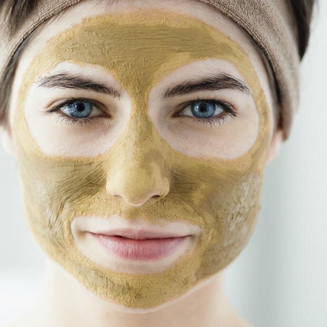маска для лица из хны