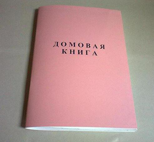 как получить домовую книгу