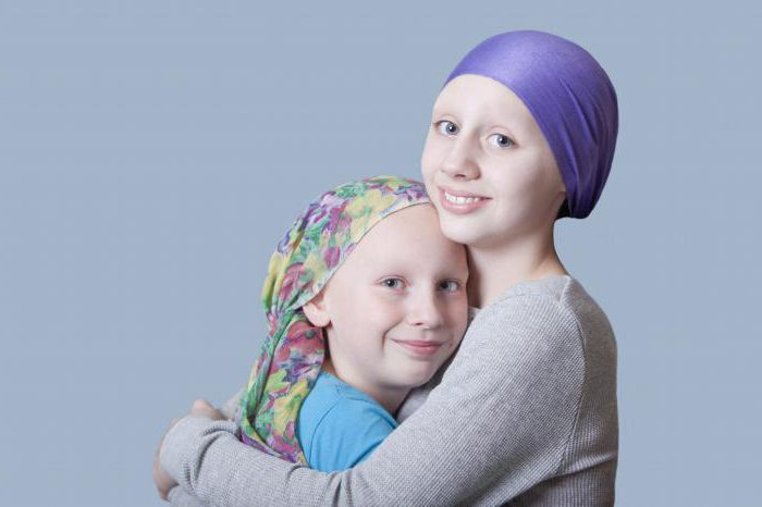 рак у ребенка