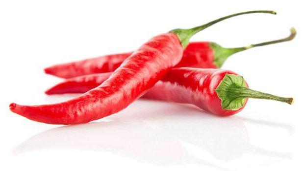 красный острый перец для похудения