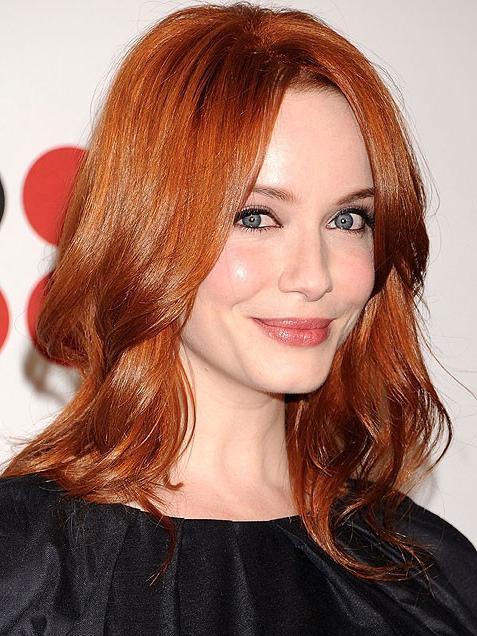 Волос темно рыжий это тренд осени