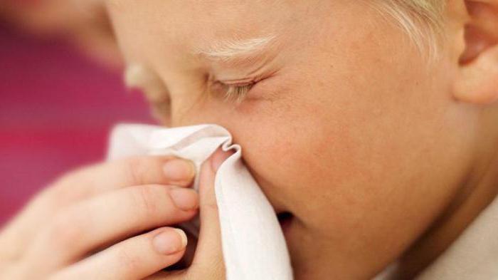 часто заложен нос у ребенка без соплей