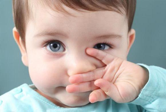 заложен нос без насморка у ребенка