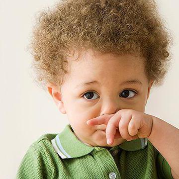 у ребенка заложен нос без соплей ночью