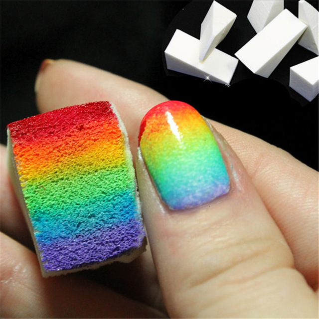 How to do gradient manicure at home