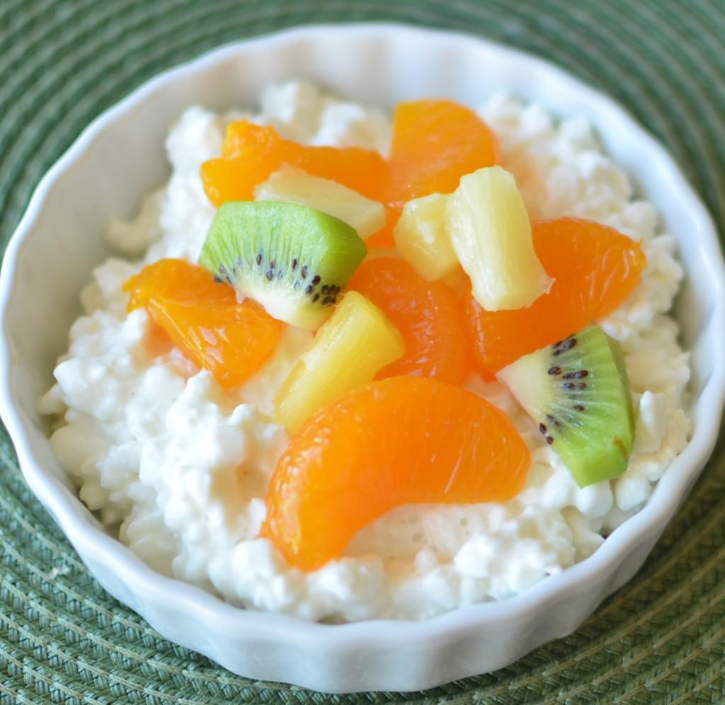 творог для похудения с фруктами