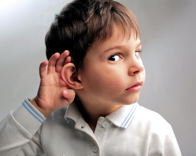 deaf children
