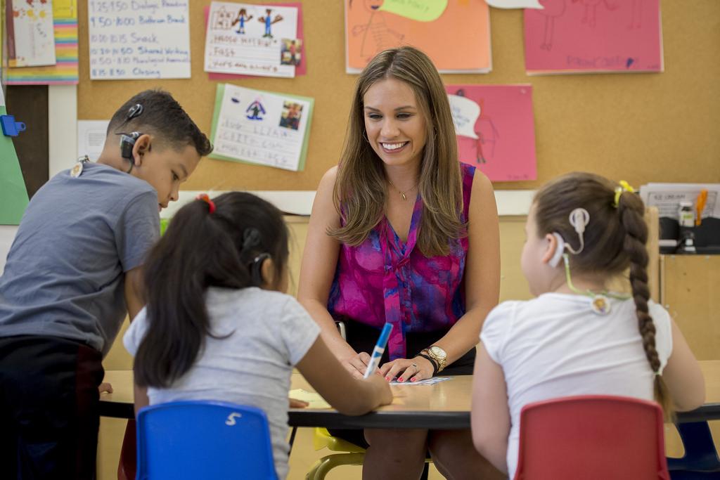 school for hearing impaired children