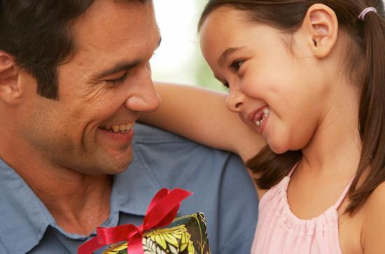 Что может подарить дочь папе
